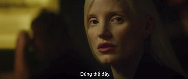 Nữ phản diện bí ẩn do Jessica Chastain thủ vai.