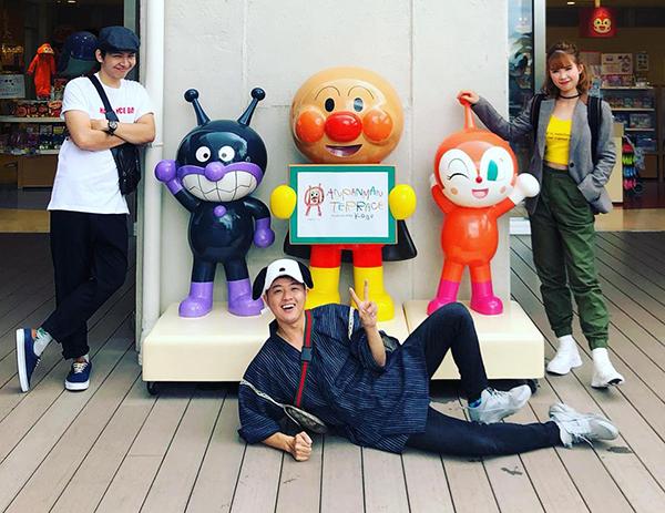 Bộ ba Kelvin Khánh - Thanh Duy - Khởi My quậy tưng trong chuyến du lịch Nhật Bản cùng nhau.