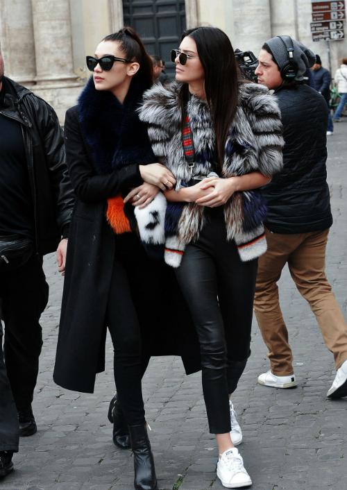 Kendall - Bella: cặp chân dài mỗi lần xuất hiện cùng nhau là gây náo loạn vì quá hot - 7