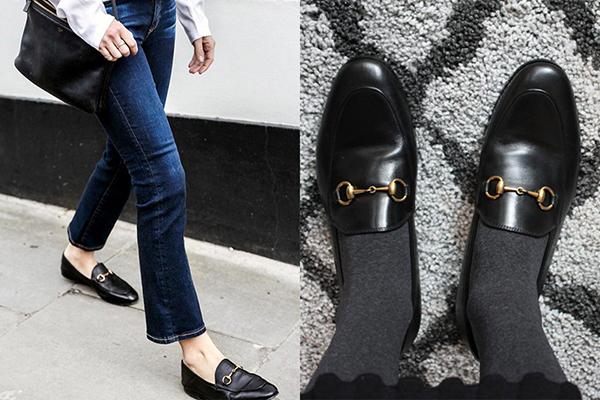 Nếu bạn muốn tìm một đôi giày lười vừa thoải mái lại vừa sang trọng, xóa nhòa ranh giới của giới tính, Gucci Jordaan là lựa chọn hàng đầu. Đôi giày mang kiểu dáng khá nam tính này được thiết kế bởi Aldo Gucci vào năm 1953 và sau đó tiếp tục được phát triển bởi Alessandro Michele, gây sốt từ năm 2015 đến nay.