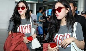 Đến Việt Nam lần thứ hai trong tháng, Hyo Min lại khiến fan ngất ngây