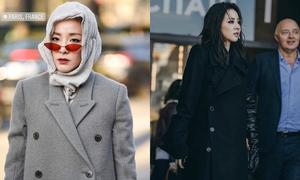 Dara lại chơi trội khi diện style 'chẳng giống ai' tại Paris Fashion Week