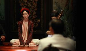Hậu trường Jun Vũ tập hát ả đào để vào vai trong 'Người bất tử'