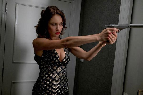 Nữ diễn viên say mê với phim hành đông.