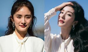 Ảnh trước và sau photoshop của Dương Mịch gây ngỡ ngàng