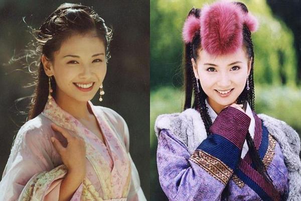 A Châu - A Tử của phiên bản năm 2003 do Lưu Đào (trái) và Trần Hảo thể hiện rất thành công.