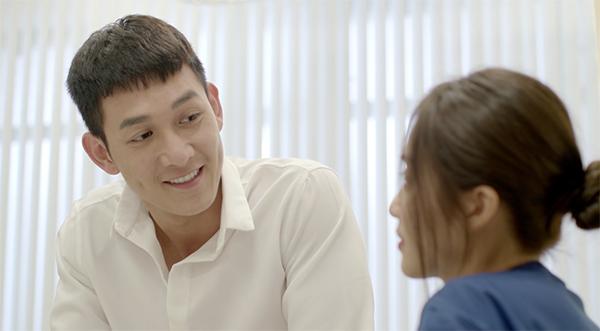 Song Luân đốn tim khán giả vì diện mạo đẹp trai của mình.