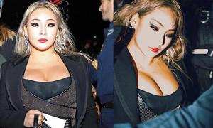 CL 'đốt mắt' khán giả với vòng một 'khủng' ở show thời trang