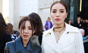 Kỳ Duyên đầy sang chảnh sánh bước bên Dara tại Paris