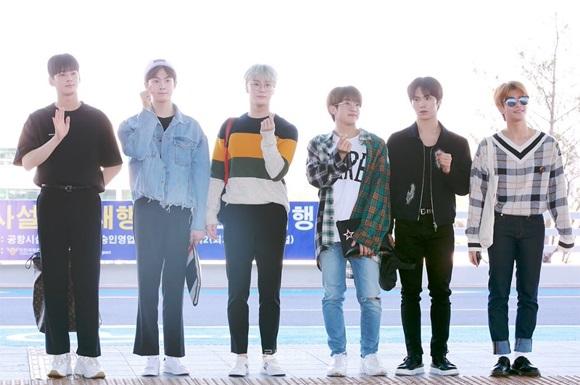 Nhóm Astro cũng sang Thái dự KCON, các fan bật cười khi nhóm để lộ cách biệt chiều cao.