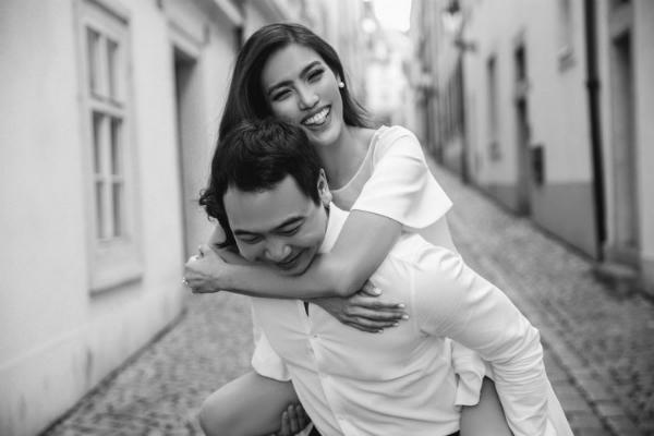 Ảnh cưới trắng đen đơn giản nhưng ngọt ngào của Lan Khuê tại Paris [30/09 - 23:23] - 1