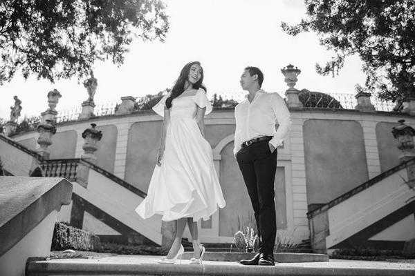 Ảnh cưới trắng đen đơn giản nhưng ngọt ngào của Lan Khuê tại Paris [30/09 - 23:23]
