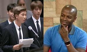 MC đài truyền hình Mỹ bị chỉ trích vì thiếu tôn trọng BTS
