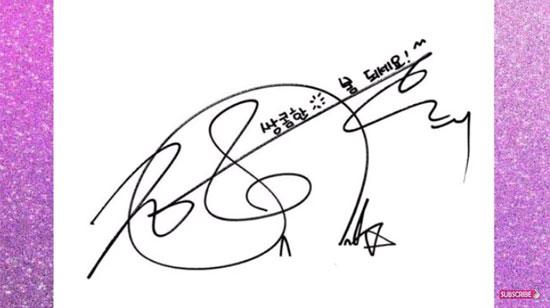 Bạn rành chữ ký idol Hàn đến đâu? - 8