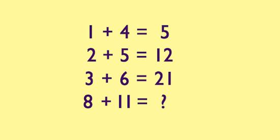 Tìm quy luật của bài toán để có kết quả đúng