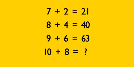 Tìm quy luật của bài toán để có kết quả đúng - 9