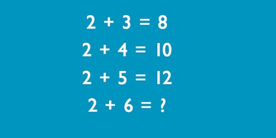 Tìm quy luật của bài toán để có kết quả đúng - 1