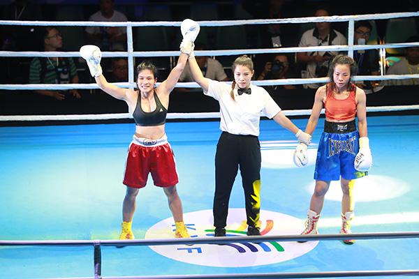 Chiến thắng thuộc về võ sĩ sinh năm 1991Thanh Trúc. Sự trở lại sau chấn thương của cô gái này mang đến sự thuyết phục trên sàn đấu.
