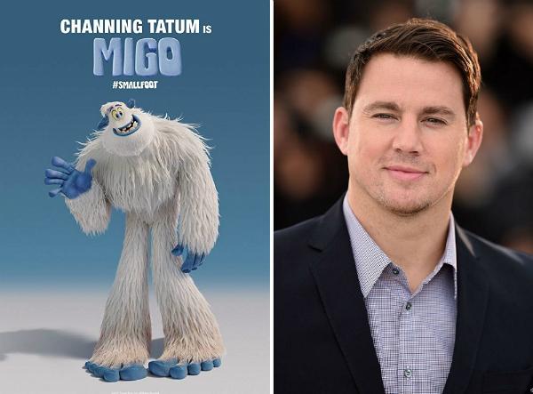 Channing Tatumm lồng tiếng cho nhân vật chính.