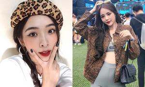Diện đồ da báo thế nào để không 'dừ' mà còn xinh như con gái Hàn Quốc?