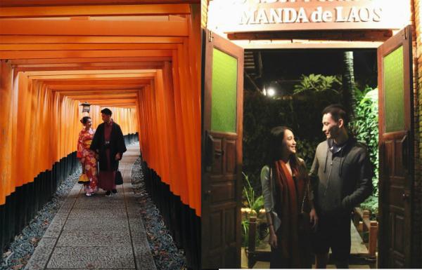 Trước đó, trên trang cá nhân hot girl Lào thường xuyên đăng tải những khoảnh khắc lãng mạn bên bạn trai. Cặp đôi đã hẹn hò được hai năm và thường xuyên du lịch cùng nhau. Hồi giữa tháng 8, cô nàng gây bão mạng xã hội Việt khi chia sẻ những bức hình du lịch tại Hà Nội.
