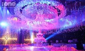 Không gian tiệc cưới hoành tráng, đẹp miễn chê của Lan Khuê - John Tuấn Nguyễn