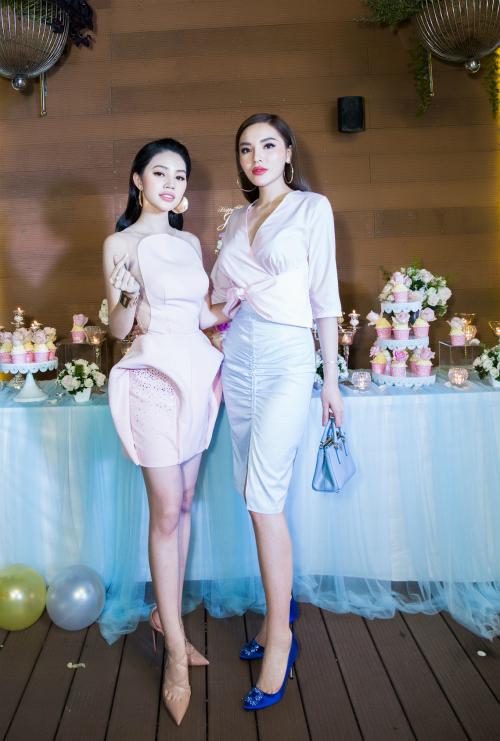 Hình ảnh Kỳ Duyên xuất hiện tại tiệc sinh nhật của Jolie Nguyễn hồi tháng 4.