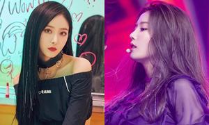 Loạt idol Kpop mê mẩn mốt tóc kim tuyến lấp lánh từ thập niên 90