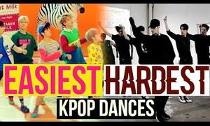 Những vũ đạo dễ nhất và khó nhất của các nhóm nhạc Kpop