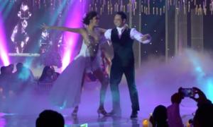 Lan Khuê và chồng nhảy nóng bỏng trong tiệc cưới khiến khách mời hú hét