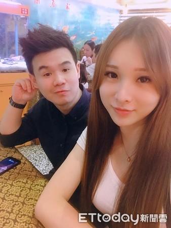 Trương Khả Phù hạnh phúc bên bạn trai đã gắn bó 2 năm. Ảnh: Ettoday.