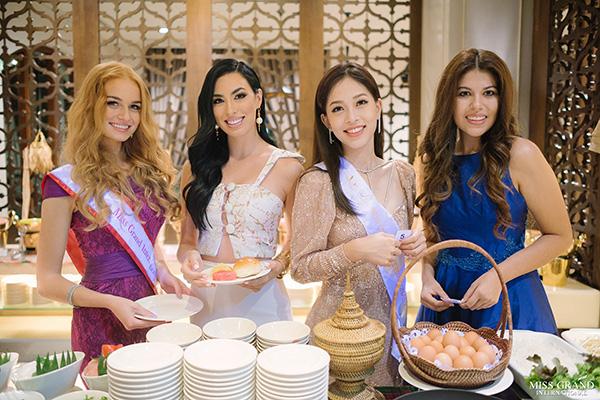 Phương Nga tự tin nói tiếng Anh, đọ sắc vóc ở Miss Grand International 2018 - 5