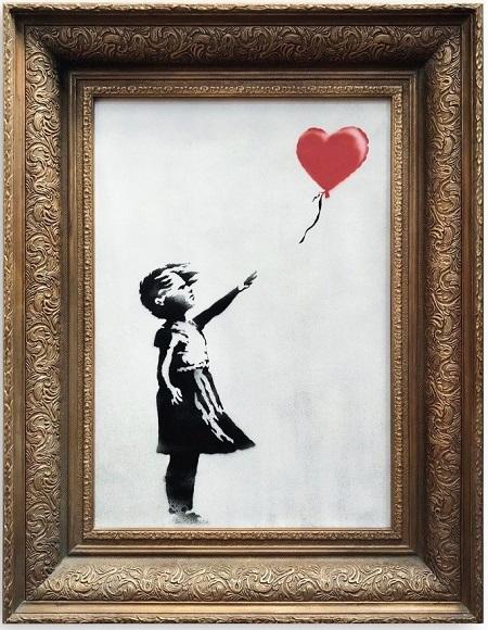 Bức tranh bỗng tự hủy sau khi được bán giá 1,4 triệu USD