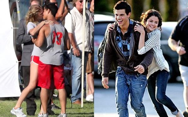 Thiên tình sử của nam diễn viênTaylor Lautner đều có bóng dáng của Taylor Swift và Selena Gomez.