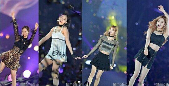 So với 3 thành viên khác, chiếc váy của Jennie bị chê lạc quẻ, không toát lên vẻ sang chảnh như các cô gái khác trong nhóm. Jennie thường được coi là con cưng, được mặc đồ chuẩn nhất Black Pink nhưng lần này lại giảm phong độ.