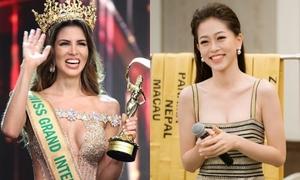 Đương kim Hoa hậu Hòa bình quốc tế khen Phương Nga: 'Da cô ấy hoàn hảo khiến tôi muốn ngắm hoài'