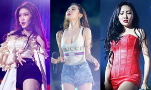 Những idol đang nhăm nhe soán ngôi 'nữ hoàng sexy' của Hyun Ah