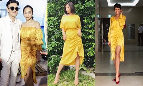 Mỗi người một cách mix đồ riêng biệt, ai mới là người diện đẹp hơn mẫu váy hot nhất mùa thu này?