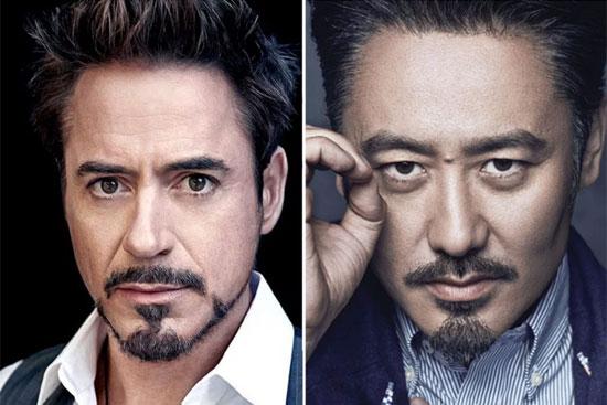 Khi nghệ sĩ châu Á cũng hao hao giống sao Hollywood - 2