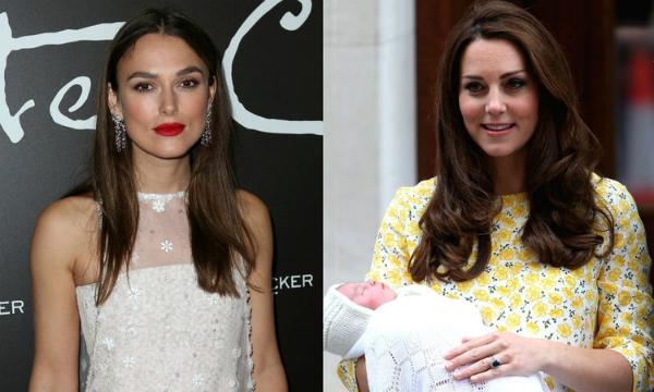Keira Knightley chỉ tríchKate Middleton vì những hình ảnh phi thực tế sau sinh.