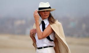 Gu thời trang của Melania Trump trong chuyến thăm châu Phi nói lên điều gì?