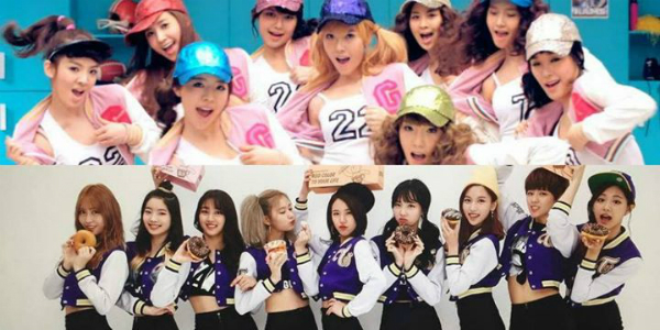Twice bị tố đạo nhái hình ảnh của SNSD.