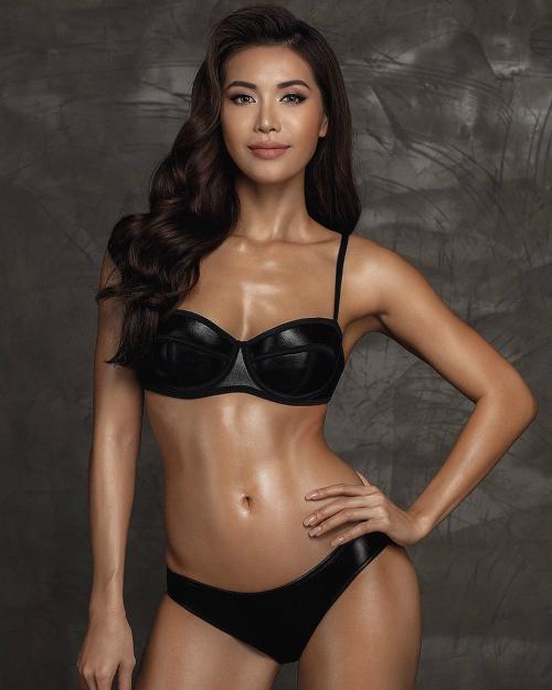 Minh Tú là đại diện Việt Nam tại Hoa hậu Siêu quốc gia lần thứ 10.