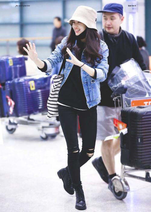 Style cuốn hút của girl crush hot nhất làng điện ảnh Hàn - 8