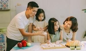Tổ ấm hạnh phúc của Hồ Hoài Anh - Lưu Hương Giang