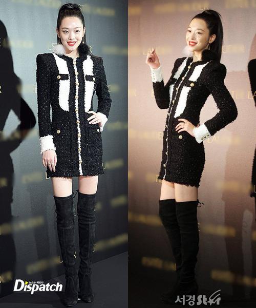 Sulli vốn luônđược ca ngợi là visual đẹp không góc chết. Tuy nhiên qua lần xuất hiện này, netizen cho rằngcô nàng cũng có những lúc xuống phong độ về khoản nhan sắc.