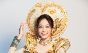 Trang phục truyền thống cầu kỳ của Phương Nga tại Miss Grand International 2018