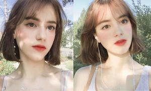 Hot girl Nga xinh như búp bê, nói thạo hai ngoại ngữ