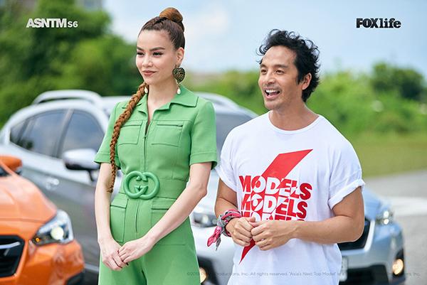 Hồ Ngọc Hà xuất hiện trong tập 8 chương trình Người mẫu châu Á.