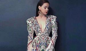 Lý Quí Khánh 'nặn hết chất xám' để thiết kế váy cho Hà Hồ tại Asia's Next Top Model